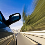 driving at high speeds