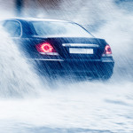 how to drive in the rain