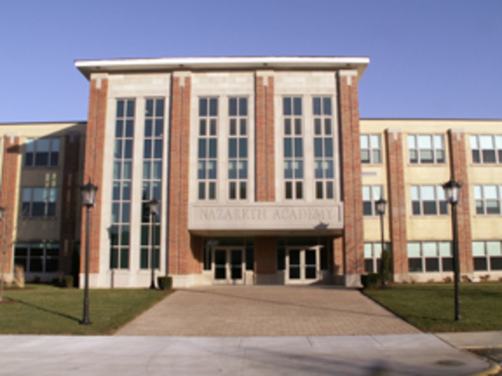 Front of Nazareth Academy.