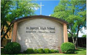 Front of St. Joesph High School