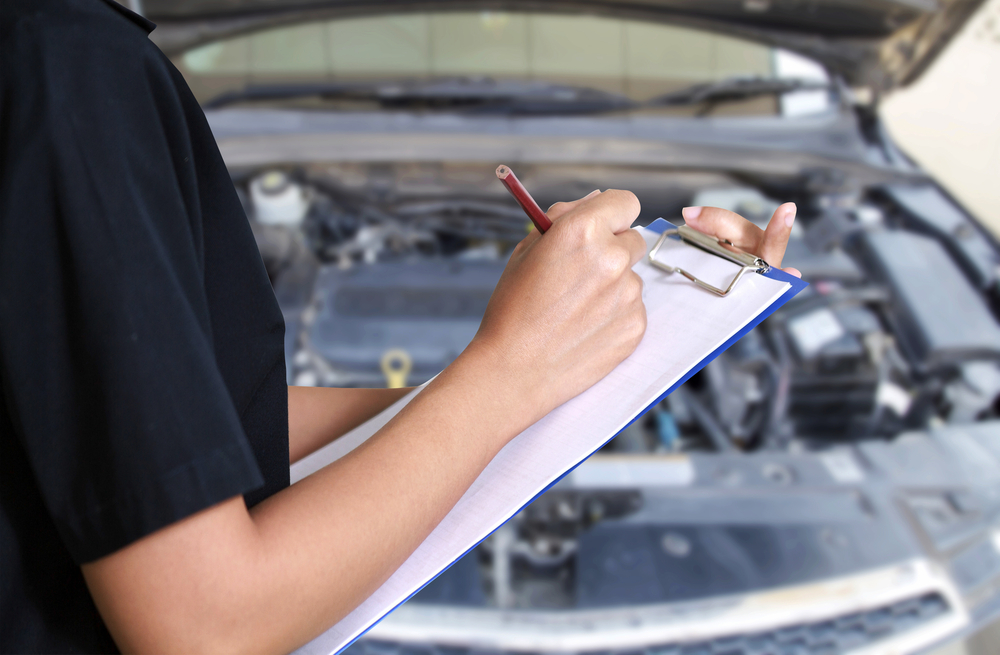 tips for a vehicle inspection