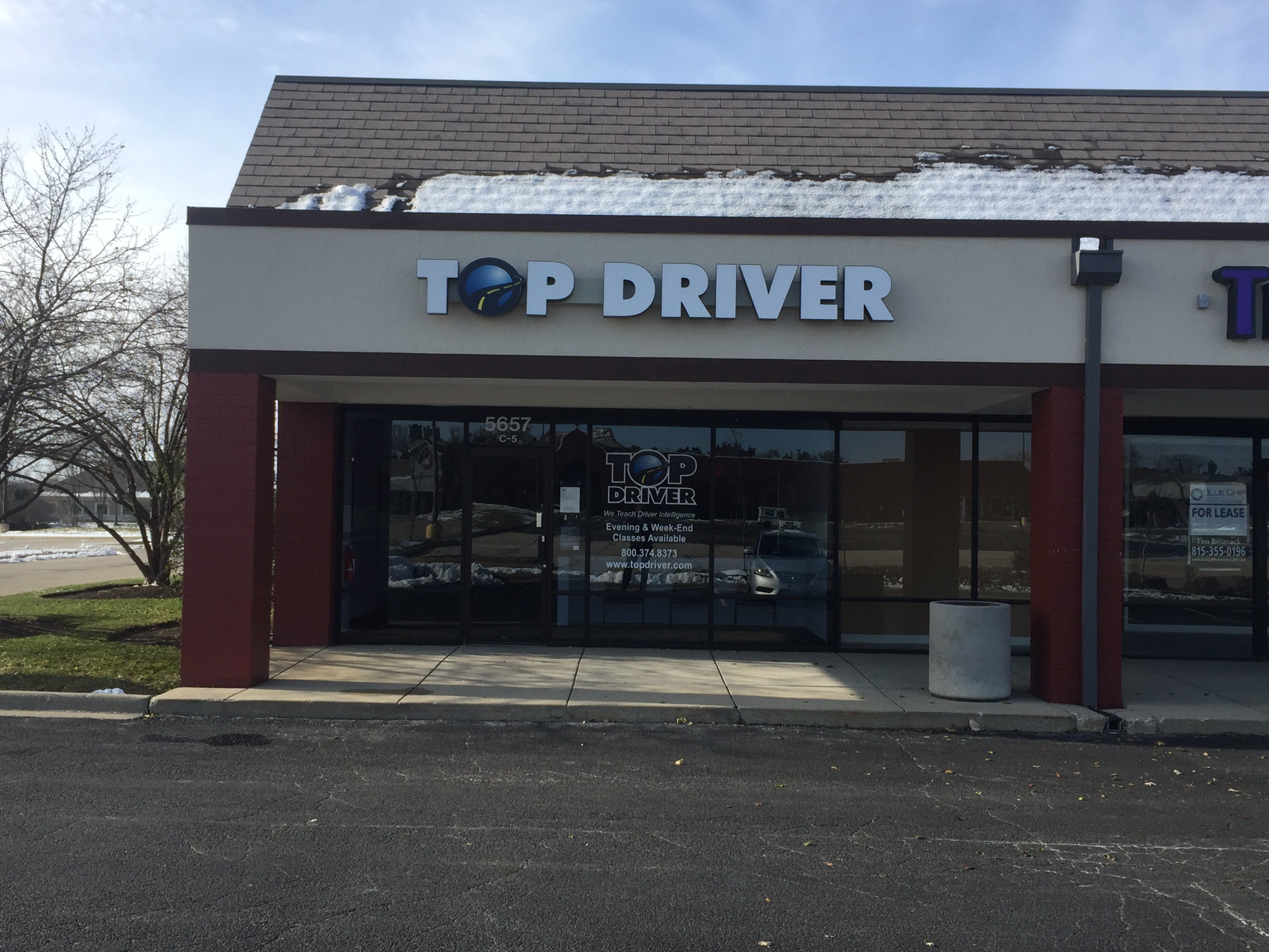 Top Driver Storefront in Crystal Lake, IL.