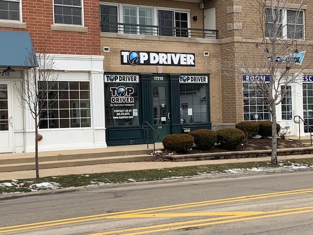 exterior of top driver storefront