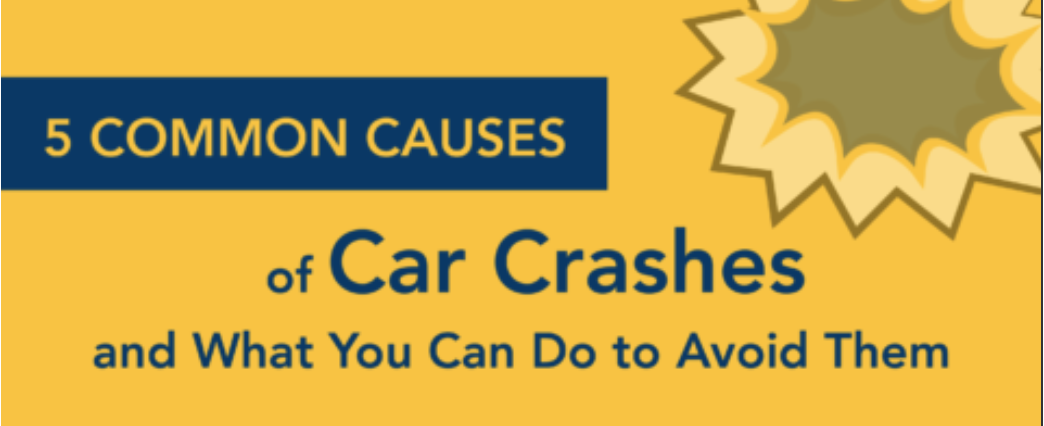 5 common causes of teen car crashes and how to avoid them.