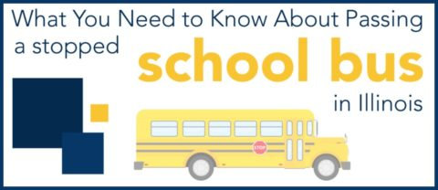 school zone, school bus, Illinois driving laws