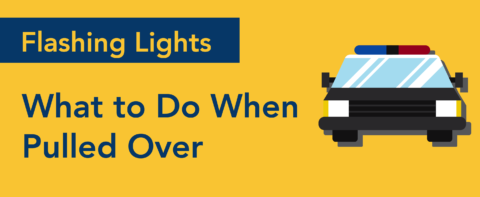 what to do when pulled over by police