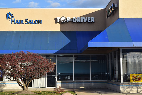 Arlington Heights, IL Top Driver Location, outside building