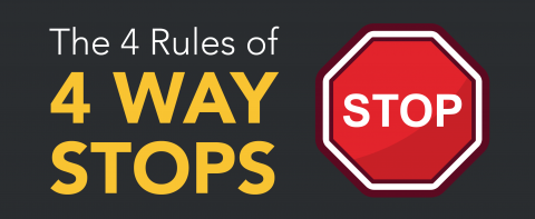 The 4 Rules of 4-Way Stops | Top Driver Blog