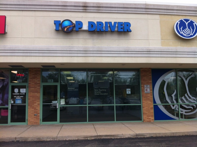 Joliet, IL Top Driver Location, outside of building