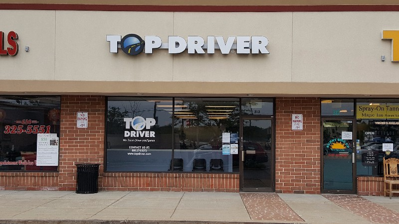 Willowbrook, IL Top Driver Location, front of building