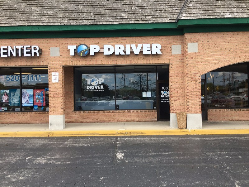 Buffalo Grove, IL Top Driver Location, front of building