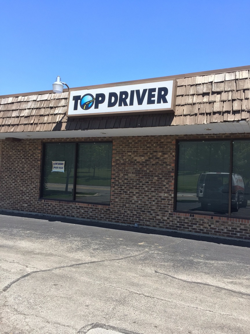 Front of Top Driver location