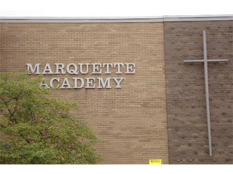 Front of Marquette Academy