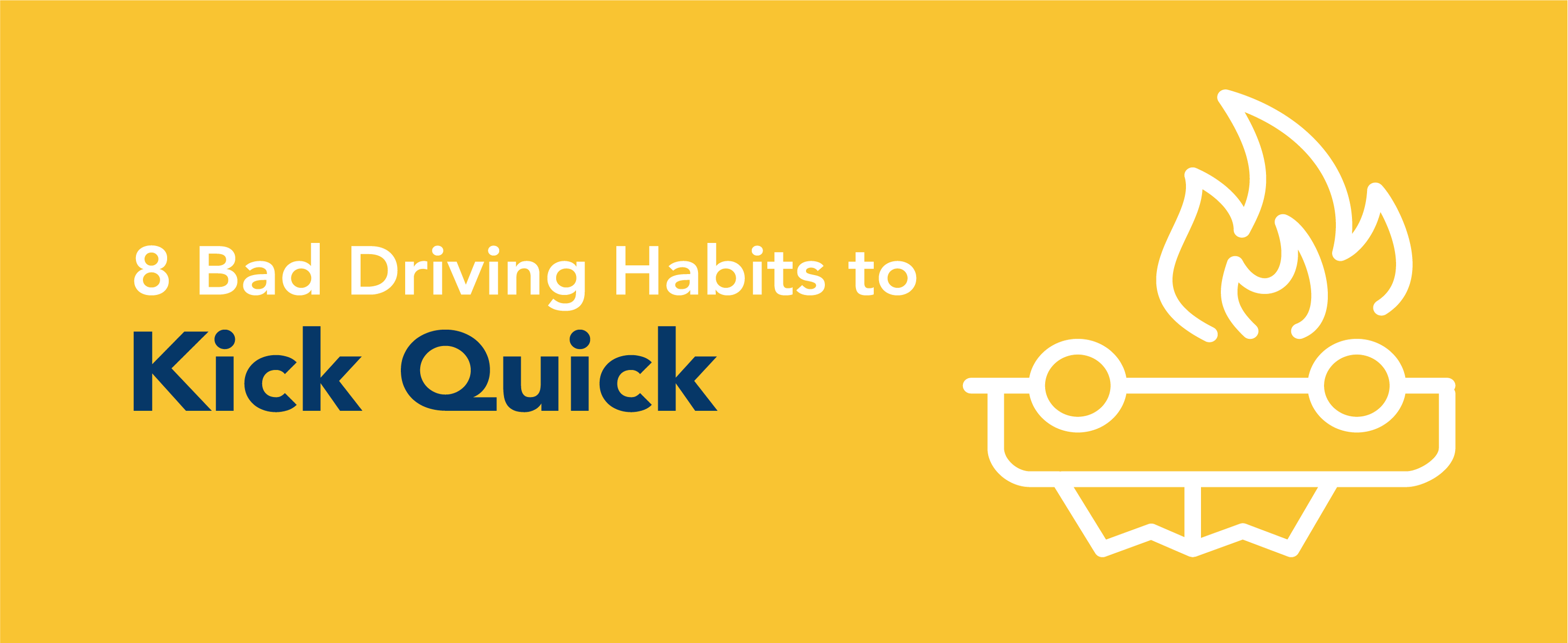 bad habits driver Other bad habits are more obvious, but while drivers know they shouldn't do them, they need a little push to actually follow through this can be accomplished by company-wide education as well as the implementation of a fleet fuel management system that can help control costs.