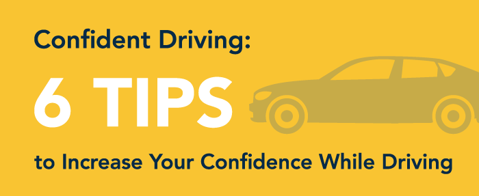 confidence while driving