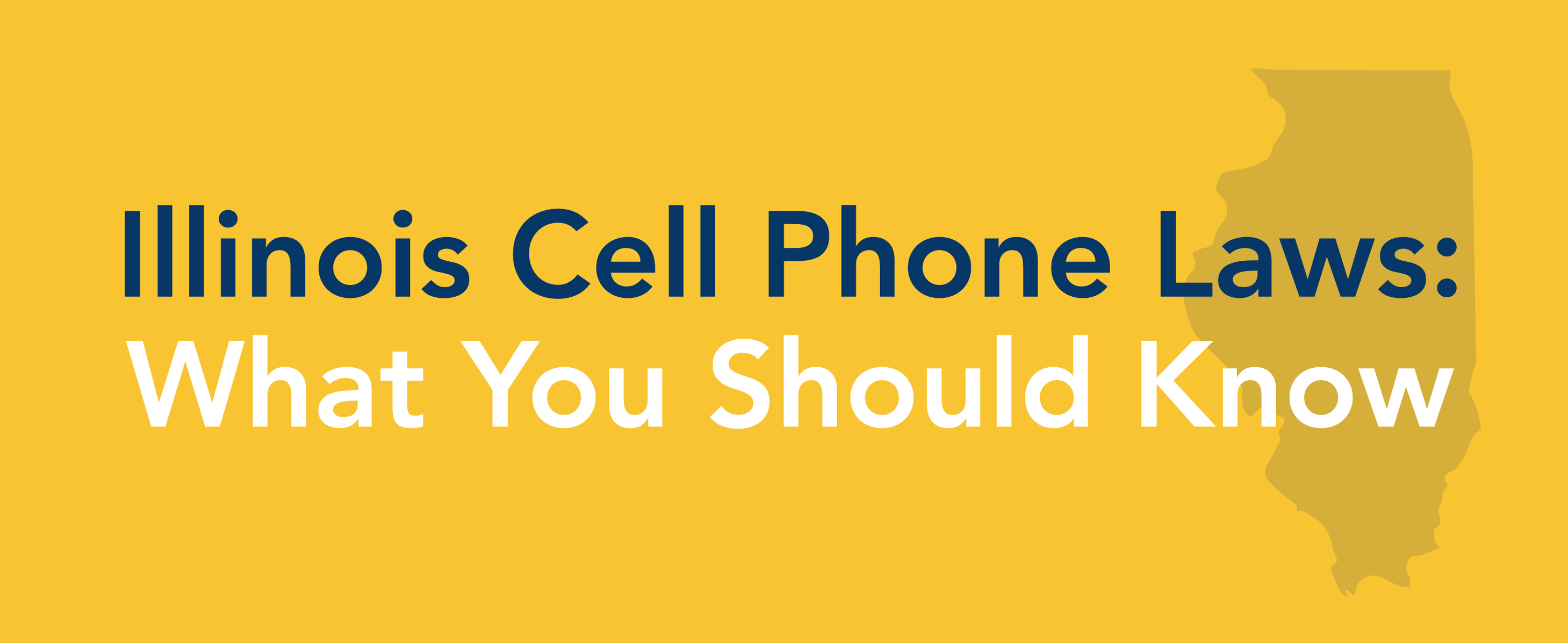 illinois cell phone laws graphic