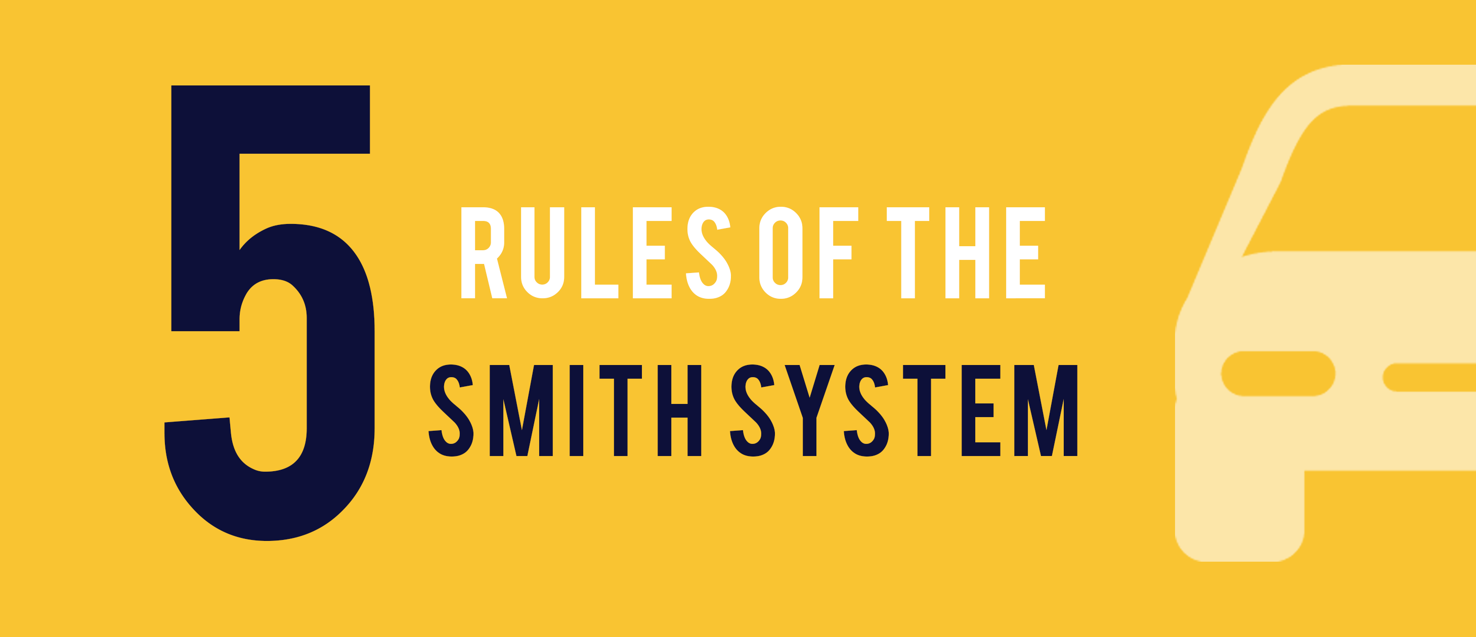 5 rules of the smith system for driving