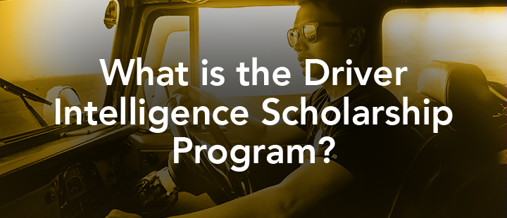 Top Driver Driver Intelligence™ Scholarship Program