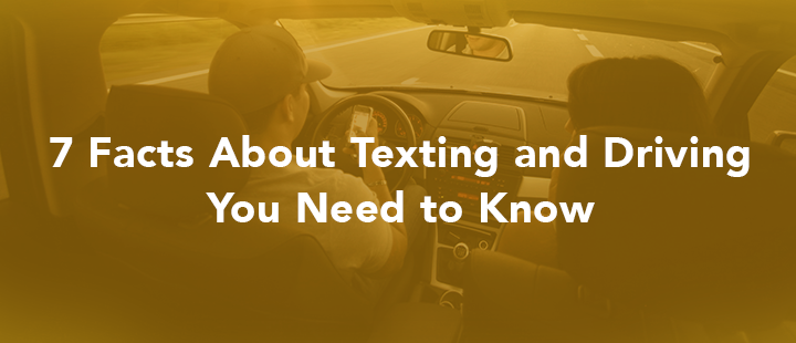 header graphic for texting while driving article