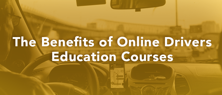 blog header benefits of online drivers education courses