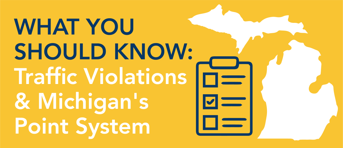 what you should know traffic violations and michigan point system